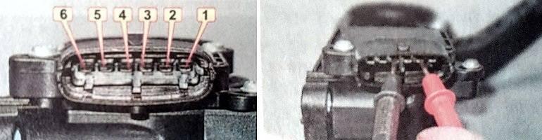 электронная педаль газа веста