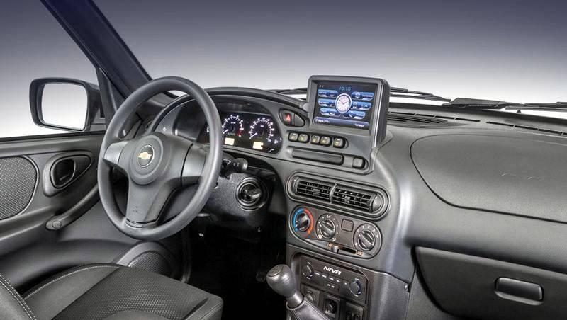 Chevrolet Niva 2019 года получила мультимедийный пакет
